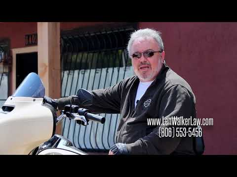 Len Walker Motorcycle Commercial