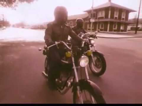 Vintage Old 1970's AMF Harley Davidson Motorcycle Commercial