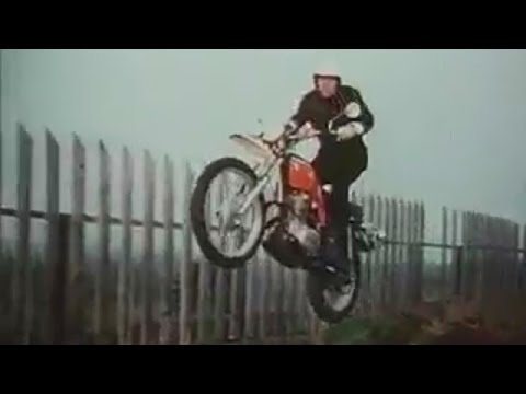 Honda Motorcycle Commercial , Malcolm Smith