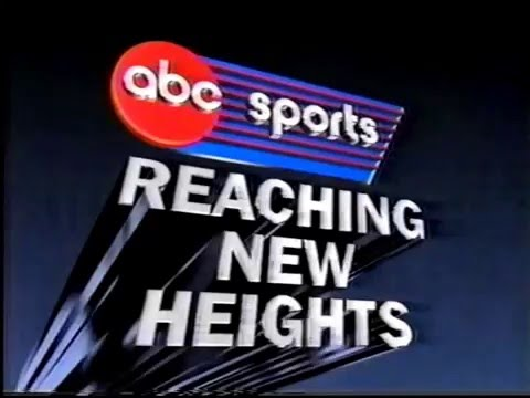 """ABC Sports Reaching New Heights"" 1988 Wang Chung Jingle Commercial"