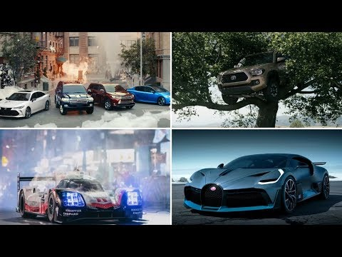 All The Best Car Commercials of August 2018