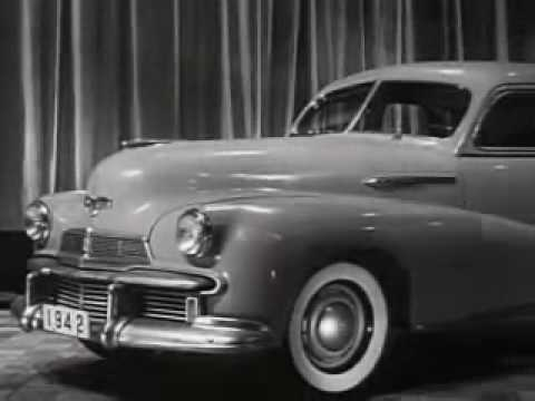 "1942 Oldsmobile""Sixty"" B-44   Car Commercial"