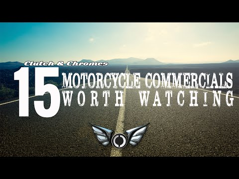 15 Motorcycle Commercials Worth Watching