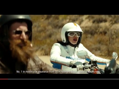 Progressive Insurance Commercial 2017 Motorcycle Misunderstanding