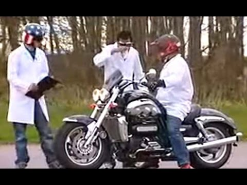 TRIUMPH ROCKET 3 - funny motorcycle commercial and viral advertising campaign