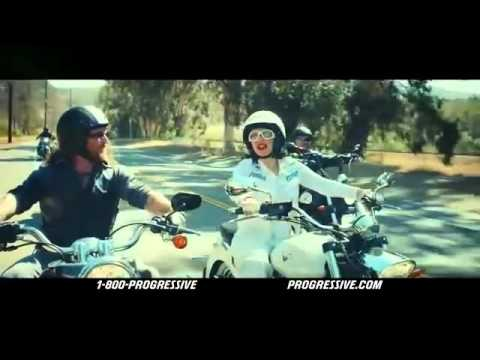 Brian Byrnes - Progressive Motorcycle Commercial 2014, 'Flo Rides'