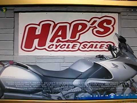 New 2010 Hap's Honda motorcycle commercial