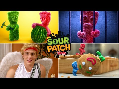 All Of The Best Sour Patch Kids Funny Sour Gummy Candy Commercials Ever
