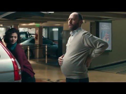 Fiber One funny ad Expecting Tvc baby pregnant body