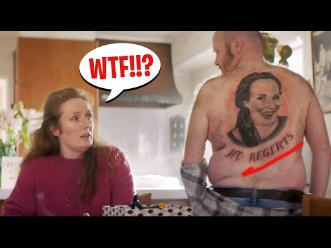 "Tattoo Fail! - Funny ""Tattoo"" Commercial Compilation"