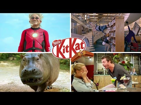 The Best 12 Funny Kit Kat Commercials Worldwide