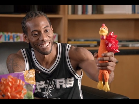 KAWHI LEONARD - SAVAGE Moments in Comercials