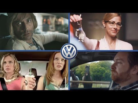 Volkswagen Car Funny Commercial Compilation