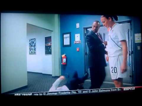 ESPN sports center commercial soccer injury