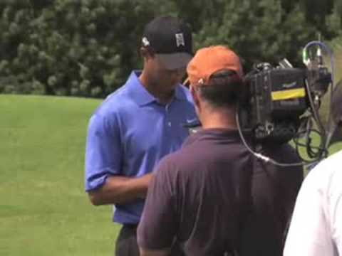 Tiger Woods' Square Peg Round Hole EA Sports Commercial (Behind the Scenes)