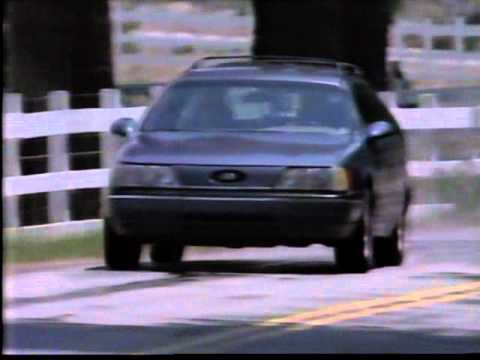 First Ford Taurus car commercial 1986