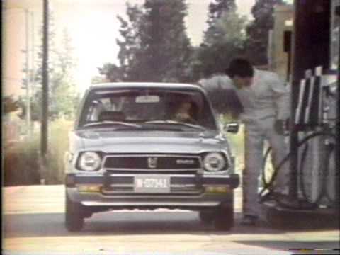 Honda Car commercial 1978