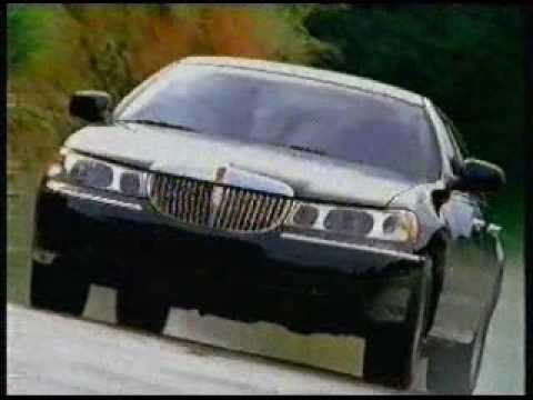 Lincoln Continental and Lincoln Town Car Commercial from 1999